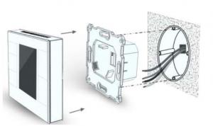 Einbau Fußbodenheizung Thermostat Smarthome ZWave MCOHome fibaro